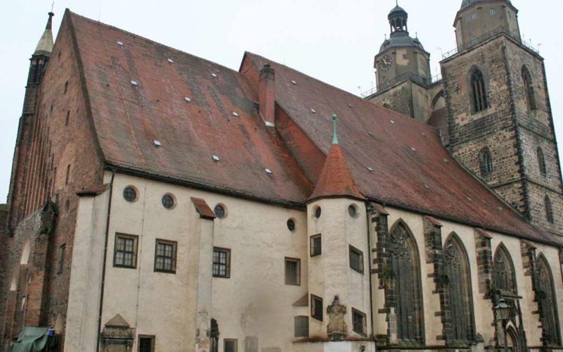 Restaurierung von 8 Sandsteinepitaphen an der Ostfassade - Stadtkirche Wittenberg