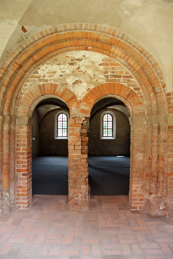 Konservierung mittelalterlicher Putze - Kloster Jerichow - Kreuzgang