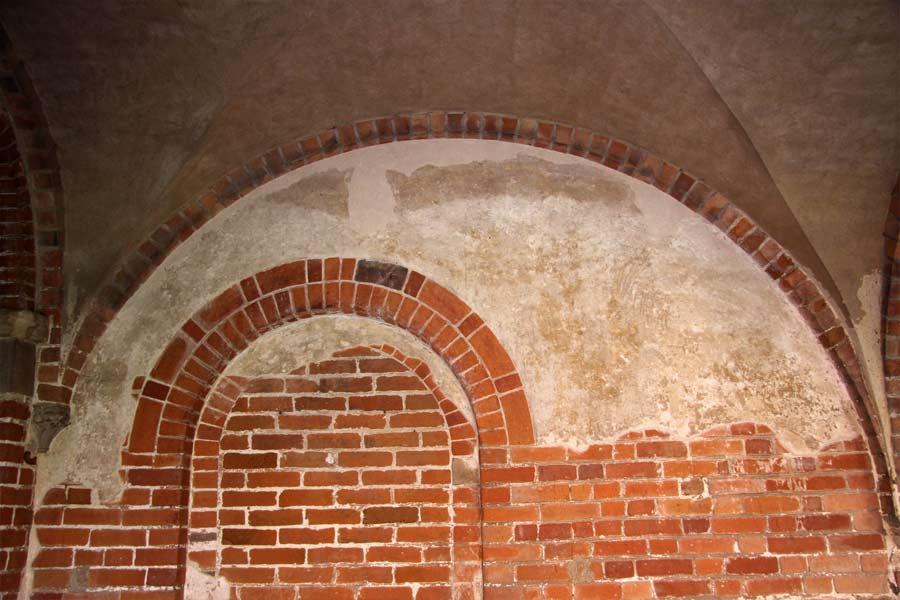 Konservierung mittelalterlicher Putze - Kloster Jerichow - Putzfeld