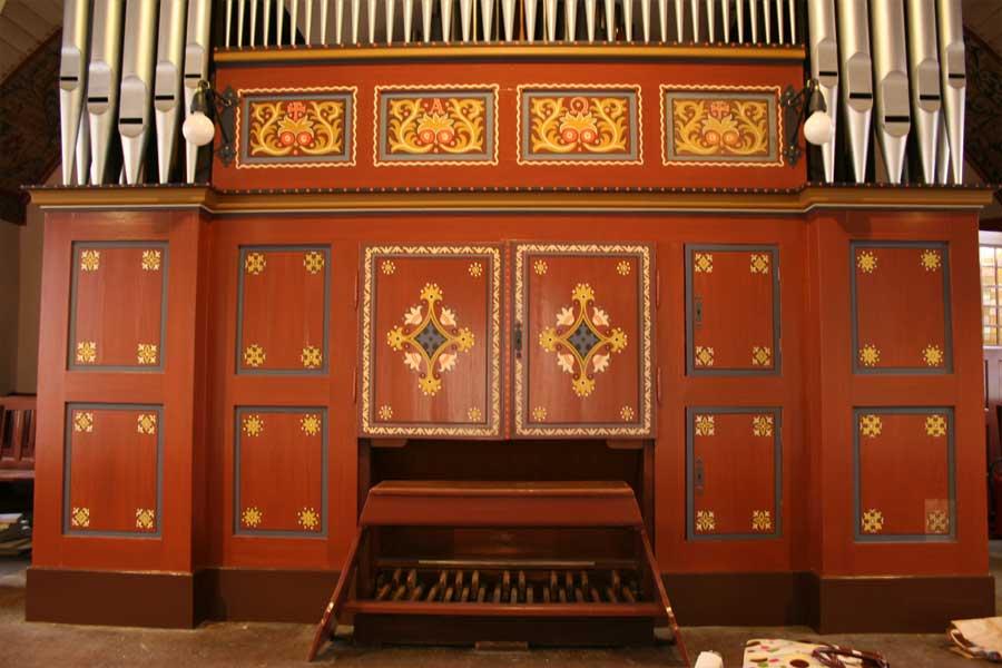 Orgelprospekt - Stadtkirche Teltow