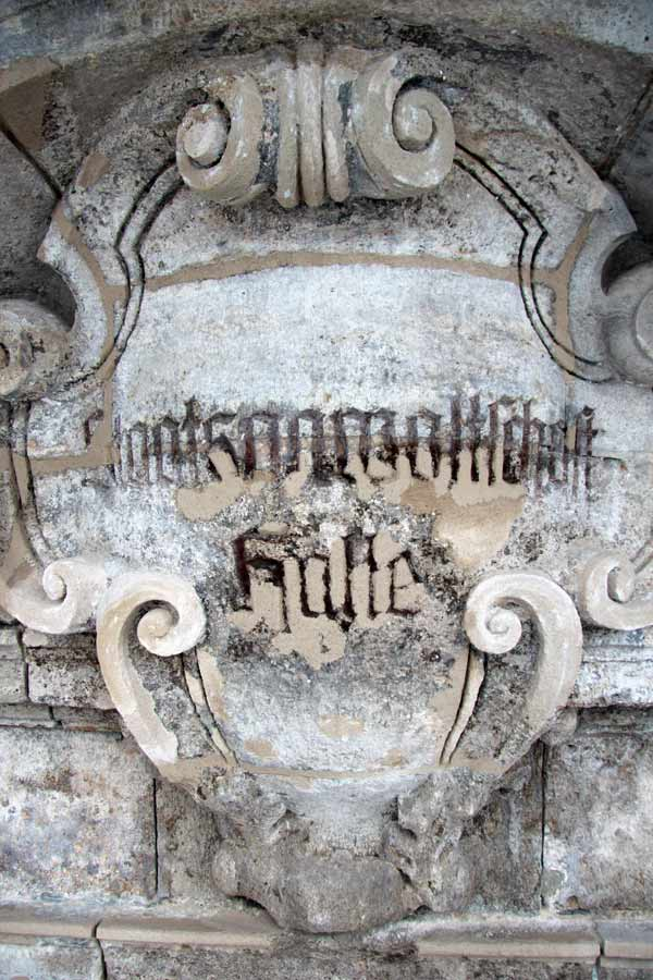 Kalksteinrestaurierung - Kalksteinportal Landesdenkmalamt Halle (Saale)