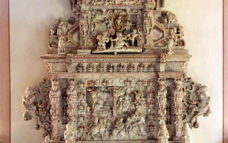 Restaurierung Alabaster-Epitaph - Dorfkirche Flechtingen