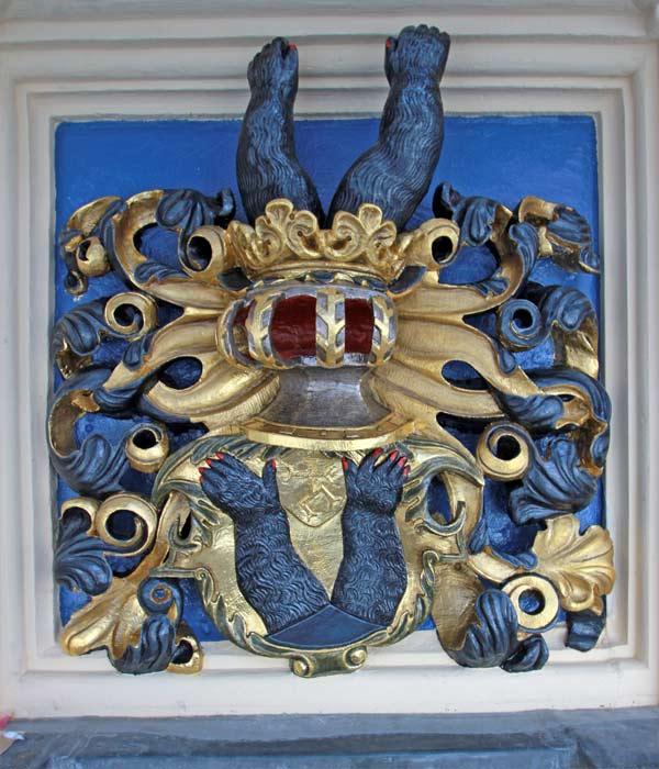 Wappengalerie - Rekonstruktion historischer Wappenfassungen - Schloss Hartenfels - Wappen Grafschaft Hoya