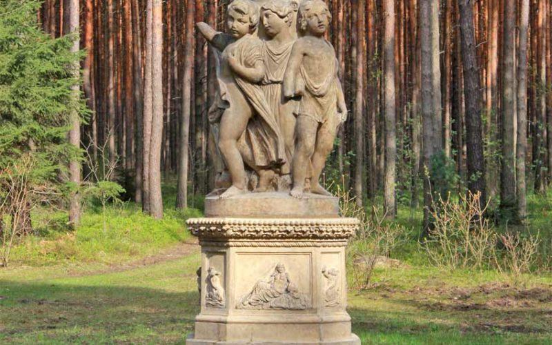 Restaurierung Terrakottabrunnen - Schlosspark Reuthen
