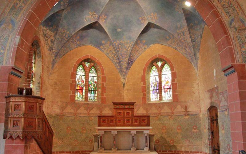 Restaurierung Chorausmalung - Kirche Altenplathow