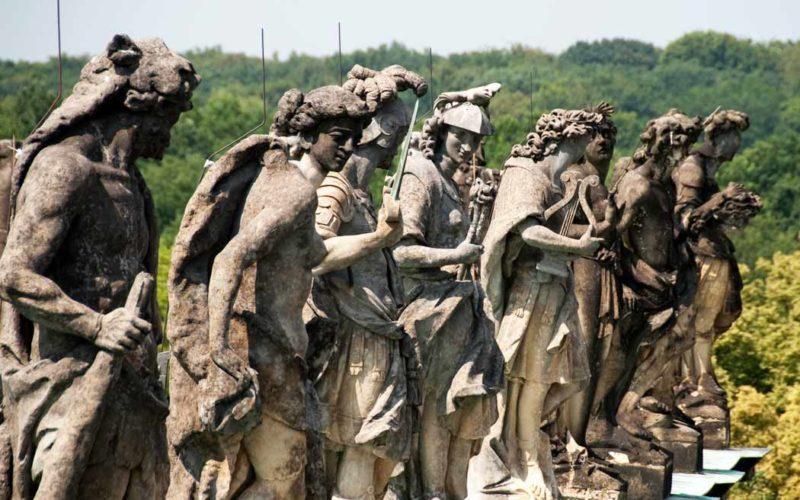 Figurengruppe - - Neues Palais Potsdam Sanssouci