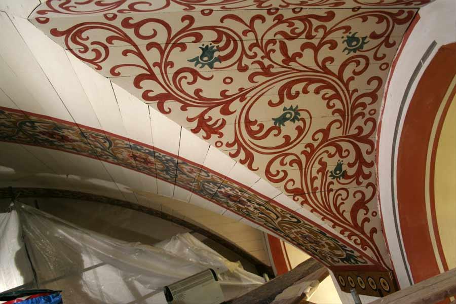 Rekonstruktion Gewölbeausmalung - Stadtkirche Teltow