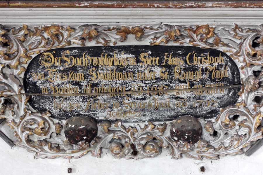 Restaurierung barocken Chorausstattung - Dorfkirche Schlagenthin