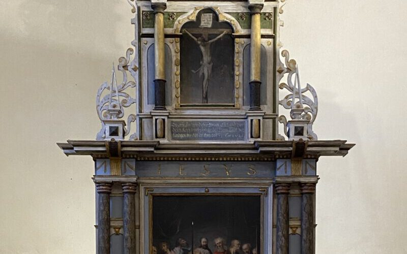 Altar im restaurierten Endzustand