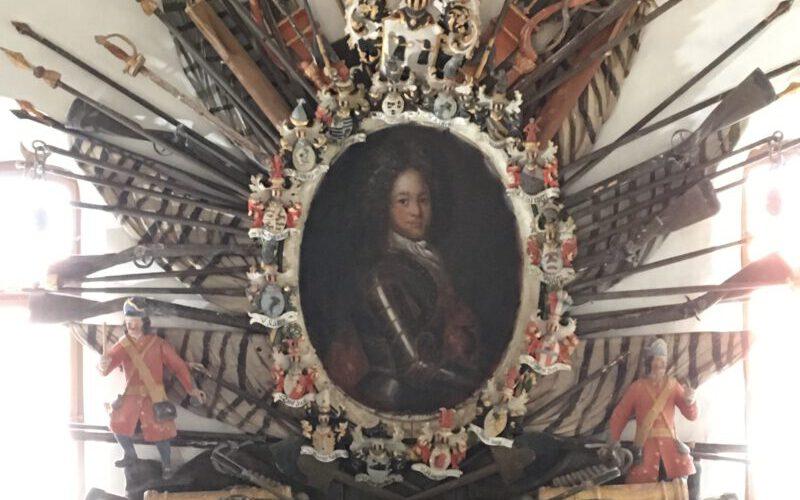 Ansicht des Epitaphs für Hans Christoph von Treskow - Zustand nach der Restaurierung