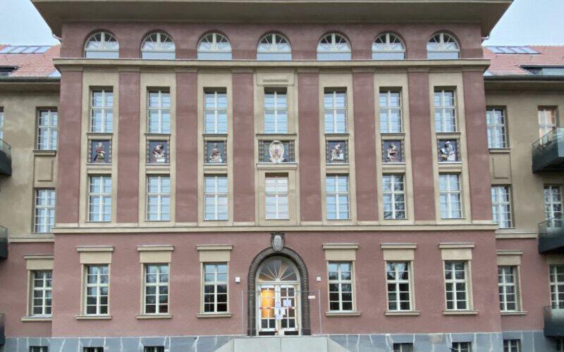 Fassadenansicht Bauteil 3, Zustand nach der Restaurierung